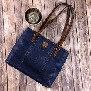 Dooney & Bourke Small Lexington Tote Cobalt Blue